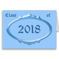 Class of 2018 Graduation Announcement Cards