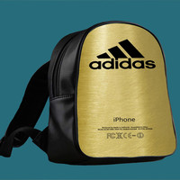 Adidas Logo Gold for Backpack / Custom Bag / School Bag / Children Bag / Custom School Bag *