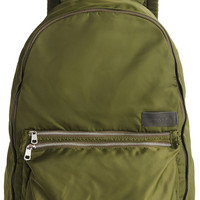 The Lorimer Backpack in Olive & Cream