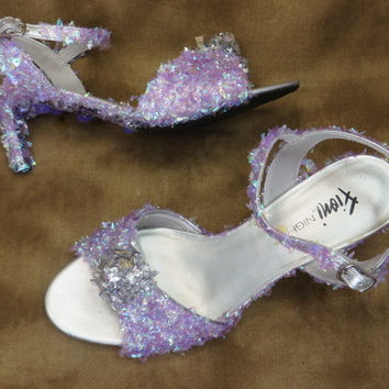 Wedding Shoes - Purple Wedding - Lavender Wedding - High Heels - Wedding Heels - Bridal Shoes - Low Heel - Wedding - Bridal - Accessories