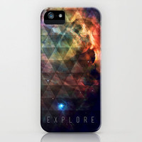 Explore II iPhone Case by Galaxy Eyes | Society6