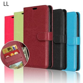 Case For LG G6 Flip Wallet Cover Cases For LG G 6 LGG6 Mobile Phone Shell For LG g6 Cover Bags Luxury PU Leather 5.7 Inch Coque