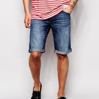 Esprit Vintage Wash Denim Shorts
