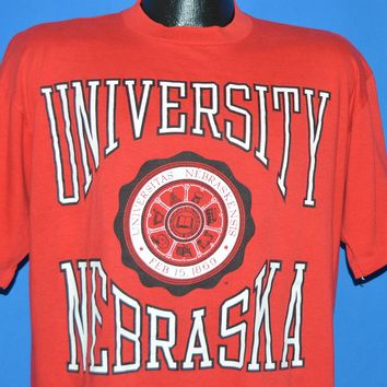 80s University of Nebraska t-shirt Extra Large