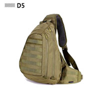 Field Tactical Men Chest Strap Backpack Sling Pack Outdoor Sport A4 One Single Shoulder Man Big Large Ride Travel Backpack Bag