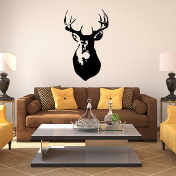 Deer antler - Wall Art - Wall Decoration - Wall Decal
