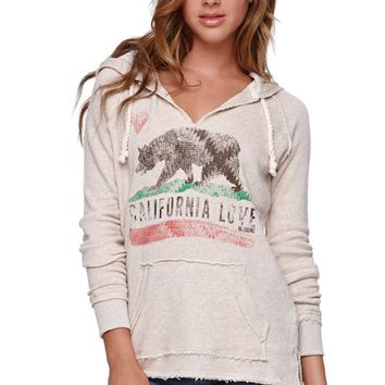 Billabong Days Off Raglan Hoodie - Womens Hoodie