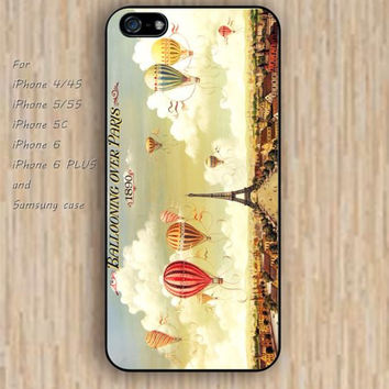 iPhone 5s 6 case cartoon watercolor Paris tower dream catcher colorful phone case iphone case,ipod case,samsung galaxy case available plastic rubber case waterproof B571