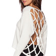 ASILIO The Entrapment Knit Sweater in Ivory