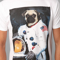 Deter First Pug On The Moon Tee