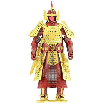 Metal Earth 3D Laser Cut Steel Model Building Kit - Chinese Ming Armor