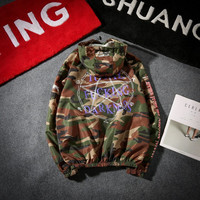 Korean Rashguard Camouflage Windbreaker [10191546951]
