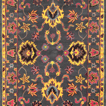 NuLoom Hand Tufted Montesque Charcoal