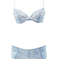 LACE PUSH-UP BRA & PANTY SET