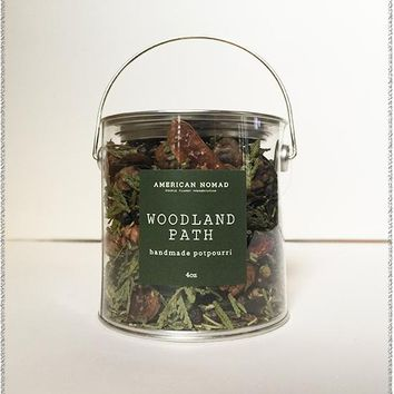 Woodland Path Potpourri Tin