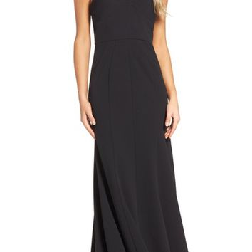 Vera Wang Strappy Jersey Gown | Nordstrom