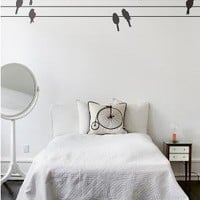 ferm LIVING - WallStickers - 2041-01 Powerbirds black
