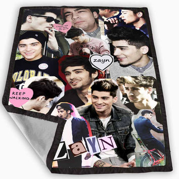Zayn Malik collage One Direction Blanket for Kids Blanket, Fleece Blanket Cute and Awesome Blanket for your bedding, Blanket fleece **