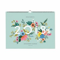 2018 Appointment Wall Calendar