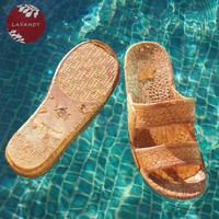 Light Brown Jandals - Pali Hawaii - Hawaiian Jesus Sandals