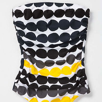 Draped Dots Maillot