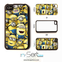 NEW Despicable Me 1 n-Sert iPhone 4, 4s, 5 Case with Changeable Inserts