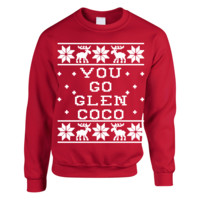 You Go Glen Coco - Ugly Sweater - Mean Girls KU
