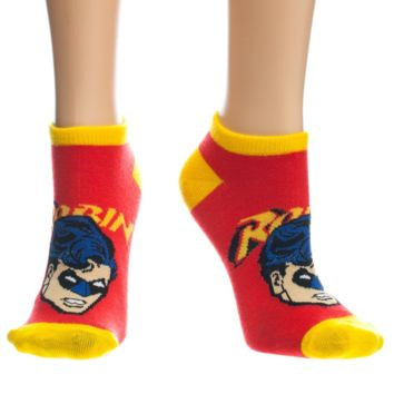 Robin Face Ankle Socks