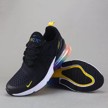 Trendsetter Nike Air Max 270 Flyknit Women Men Fashion Sneakers bce73af47