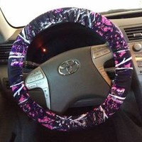 muddy girl camo steering wheel cover - Google Search