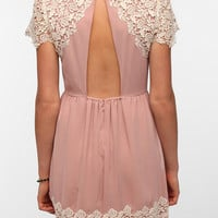 Urban Outfitters - Pins and Needles Lace Caplet Dress
