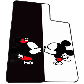 Mickey And Minie Mouse Kissing Disney.. bbf093aa-354d-498e-9b96-deba16a4425f for Kids Blanket, Fleece Blanket Cute and Awesome Blanket for your bedding, Blanket fleece *AD*