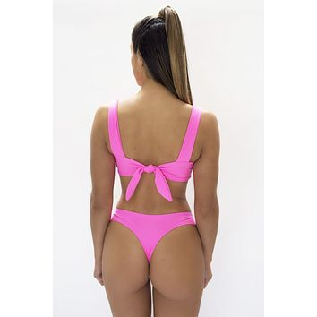 KAOHS Swimwear Salty Bottom in Pink