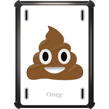 DistinctInk™ OtterBox Defender Series Case for Apple iPad - Poop Emoji