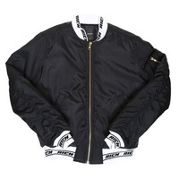 JOYRICH MA-1 JACKET / BLACK