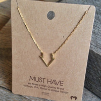"Arrow Down ""Must Have"" Necklace"