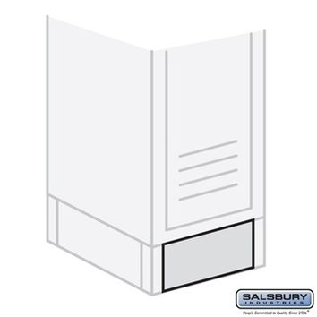 Salsbury Industries Front Base - for 15 Inch Wide Metal Locker