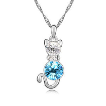 New Arrival Jewelry Shiny Gift Stylish Crystal Necklace [9819388687]