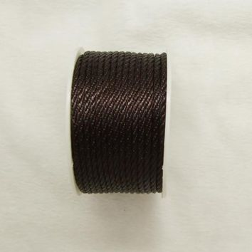 Free shipping 10mtrs/Lot Vintage Coffee 3mm Nylon Braide Persian Cord Macrame&Craft Yarn