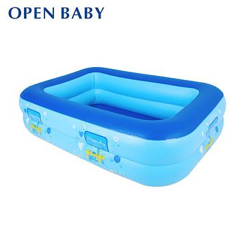 Baby Swimming Pool - Inflatable Square - Eco-friendly PVC