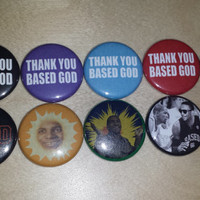 LIL B BASED GOD button set of 10