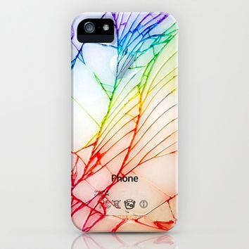 iphone and ipod case Broken, rupture, damaged, cracked out apple iPhone 4 4s, 5 5s 5c, iPod & samsung galaxy s4 case cover