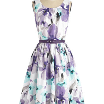 Spellbinding Ability Dress in Grape | Mod Retro Vintage Dresses | ModCloth.com
