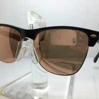 NEW RAY BAN RB 4175 877/Z2 SUNGLASSES RB4175 RAYBAN BLACK/BROWN PINK MIRROR