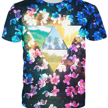 Cherry Blossoms and Paradise T-Shirt
