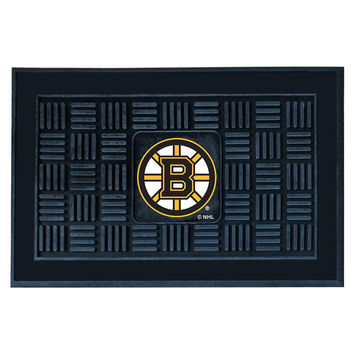 Boston Bruins NHL Vinyl Doormat (19x30)