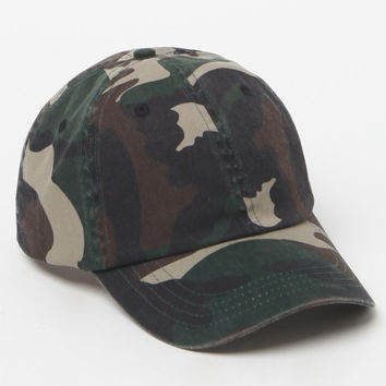 LA Hearts Camo Dad Hat at PacSun.com