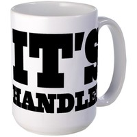 It's Handled Scandal Quote Mug