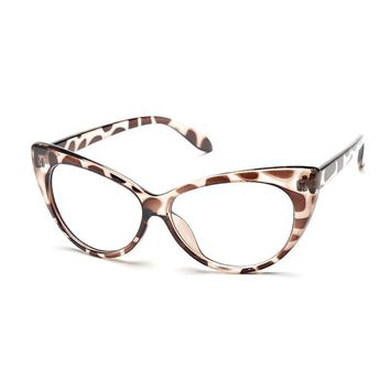 New luxury Brand Women Optical Glasses Frame Cat Eye Eyeglasses Anti-fatigue Computer Eye Glasses Eyewear Oculos de grau