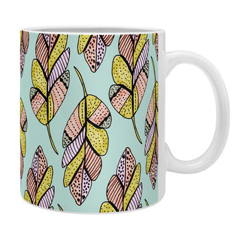Allyson Johnson Native Feathers Coffee Mug